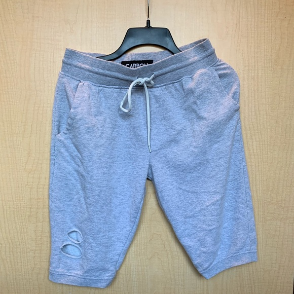 4f743c92522 Carbon Shorts   Distressed Sweat   Poshmark